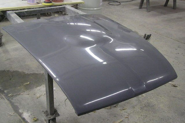 Fiber glass MGB Hood